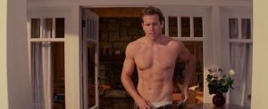 ryan reynolds shirtless proposal