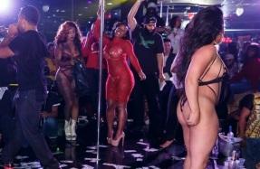strip club turn up