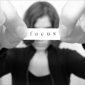 focus woman