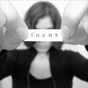 focus woman
