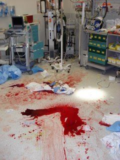 hospital trauma er scene